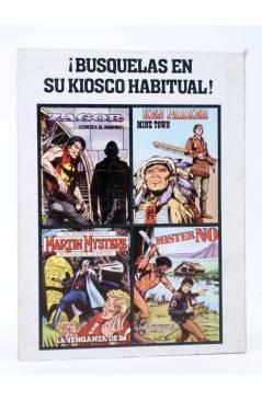 Contracubierta de ZAGOR 2. CONTRA EL VAMPIRO (G. Nolitta) Zinco 1982. BONELLI