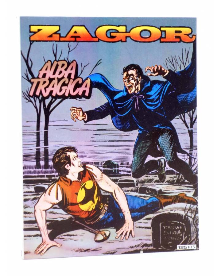 Cubierta de ZAGOR 3. ALBA TRÁGICA (G. Nolitta) Zinco 1982. BONELLI