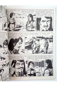 Muestra 2 de ZAGOR 5. LA NIEBLA INFERNAL (G. Nolitta) Zinco 1983. BONELLI