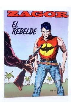Cubierta de ZAGOR 6. EL REBELDE (G. Nolitta) Zinco 1983. BONELLI