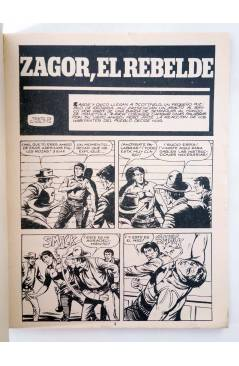 Muestra 1 de ZAGOR 6. EL REBELDE (G. Nolitta) Zinco 1983. BONELLI