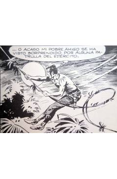 Muestra 3 de ZAGOR 6. EL REBELDE (G. Nolitta) Zinco 1983. BONELLI