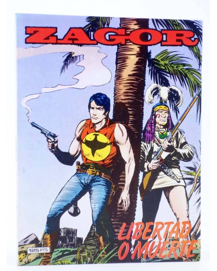 Cubierta de ZAGOR 7. LIBERTAD O MUERTE (G. Nolitta) Zinco 1983. BONELLI