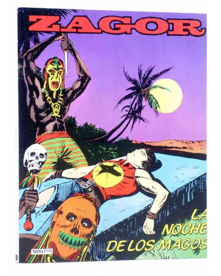 Cubierta de ZAGOR 10. VUDÚ (G. Nolitta) Zinco 1983. BONELLI