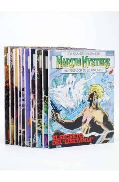 Contracubierta de MARTIN MYSTERE LOTE NºS 1 A 10 (A. Castelli) Zinco 1982. BONELLI