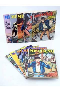 Cubierta de MISTER NO LOTE NºS 1 A 10 (G. Nolitta) Zinco 1982. BONELLI