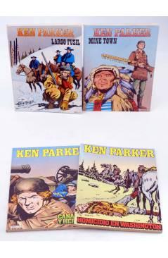 Muestra 2 de KEN PARKER 1 A 17. COMPLETA (Berardi) Zinco 1982. BONELLI