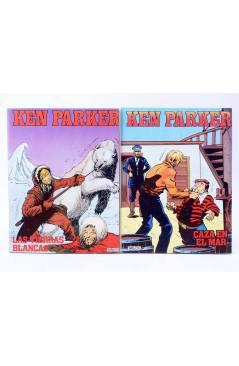 Muestra 4 de KEN PARKER 1 A 17. COMPLETA (Berardi) Zinco 1982. BONELLI