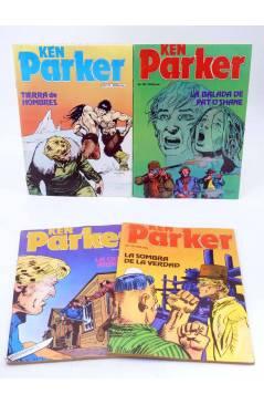 Muestra 5 de KEN PARKER 1 A 17. COMPLETA (Berardi) Zinco 1982. BONELLI