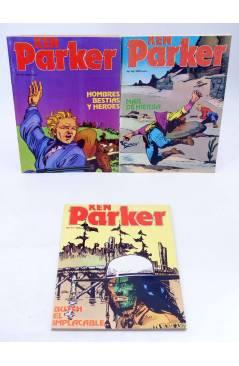 Muestra 6 de KEN PARKER 1 A 17. COMPLETA (Berardi) Zinco 1982. BONELLI