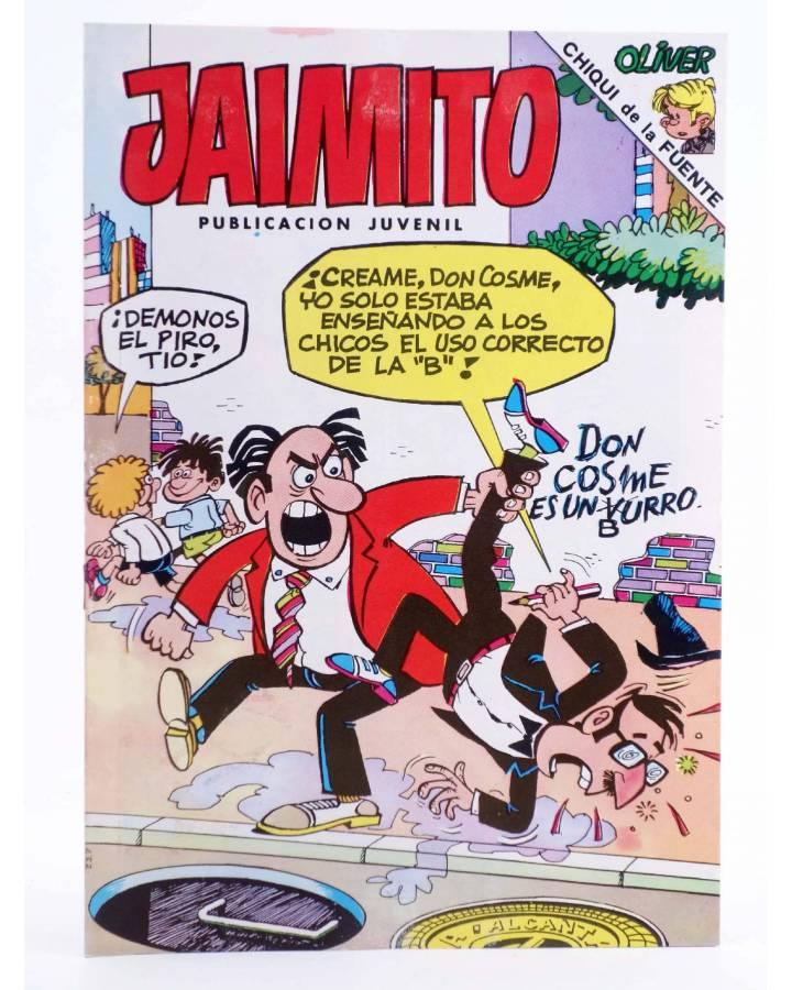 Cubierta de JAIMITO PUBLICACIÓN JUVENIL 1642. 12 Noviembre 1983 (Vvaa) Valenciana 1983