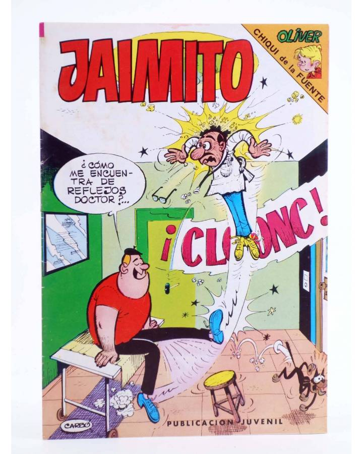 Cubierta de JAIMITO PUBLICACIÓN JUVENIL 1644. 03 Diciembre 1983 (Vvaa) Valenciana 1983