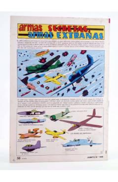 Contracubierta de JAIMITO PUBLICACIÓN JUVENIL 1648. 07 Enero 1984 (Vvaa) Valenciana 1984
