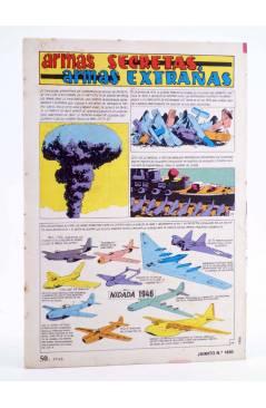 Contracubierta de JAIMITO PUBLICACIÓN JUVENIL 1650. 21 Enero 1984 (Vvaa) Valenciana 1984