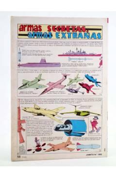 Contracubierta de JAIMITO PUBLICACIÓN JUVENIL 1653. 11 Febrero 1984 (Vvaa) Valenciana 1984