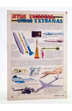 Contracubierta de JAIMITO PUBLICACIÓN JUVENIL 1654. 18 Febrero 1984 (Vvaa) Valenciana 1984