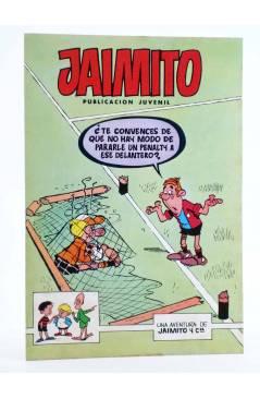 Cubierta de JAIMITO PUBLICACIÓN JUVENIL 1655. 25 Febrero 1984 (Vvaa) Valenciana 1984