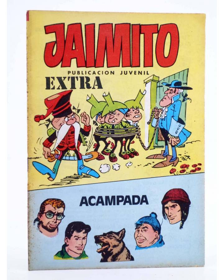 Cubierta de JAIMITO PUBLICACIÓN JUVENIL 1657. 10 Marzo 1984 (Vvaa) Valenciana 1984. EXTRA