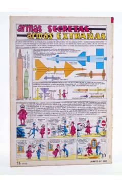 Contracubierta de JAIMITO PUBLICACIÓN JUVENIL 1657. 10 Marzo 1984 (Vvaa) Valenciana 1984. EXTRA