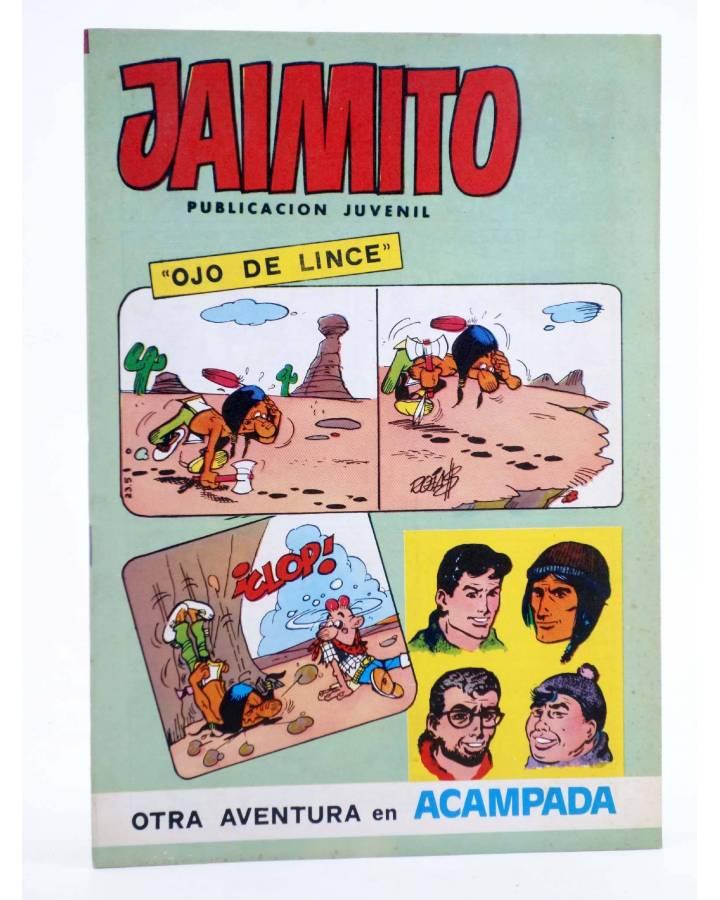 Cubierta de JAIMITO PUBLICACIÓN JUVENIL 1659. 24 Marzo 1984 (Vvaa) Valenciana 1984