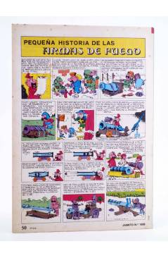 Contracubierta de JAIMITO PUBLICACIÓN JUVENIL 1659. 24 Marzo 1984 (Vvaa) Valenciana 1984