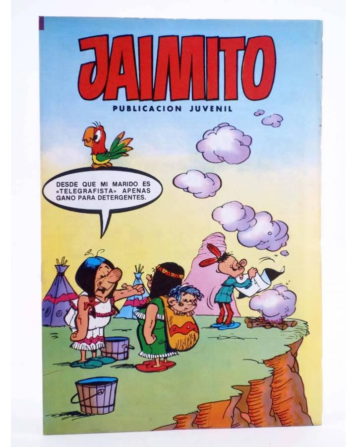 Cubierta de JAIMITO PUBLICACIÓN JUVENIL 1660. 31 Marzo 1984 (Vvaa) Valenciana 1984