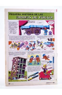 Contracubierta de JAIMITO PUBLICACIÓN JUVENIL 1660. 31 Marzo 1984 (Vvaa) Valenciana 1984