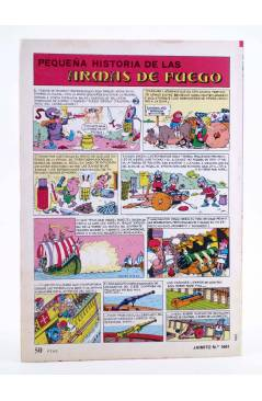 Contracubierta de JAIMITO PUBLICACIÓN JUVENIL 1661. 14 Abril 1984 (Vvaa) Valenciana 1984