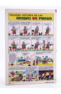 Contracubierta de JAIMITO PUBLICACIÓN JUVENIL 1664. 05 Mayo 1984 (Vvaa) Valenciana 1984