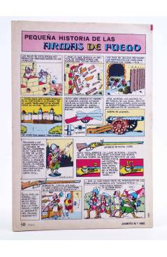 Contracubierta de JAIMITO PUBLICACIÓN JUVENIL 1665. 12 Mayo 1984 (Vvaa) Valenciana 1984