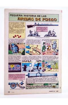Contracubierta de JAIMITO PUBLICACIÓN JUVENIL 1667. 26 Mayo 1984 (Vvaa) Valenciana 1984