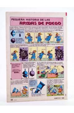 Contracubierta de JAIMITO PUBLICACIÓN JUVENIL 1668. 02 Junio 1984 (Vvaa) Valenciana 1984