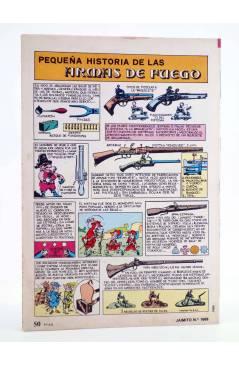 Contracubierta de JAIMITO PUBLICACIÓN JUVENIL 1669. 09 Junio 1984 (Vvaa) Valenciana 1984