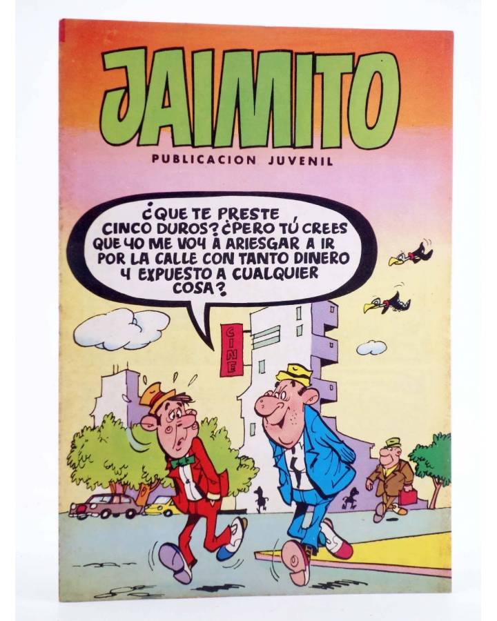 Cubierta de JAIMITO PUBLICACIÓN JUVENIL 1672. 30 Junio 1984 (Vvaa) Valenciana 1984