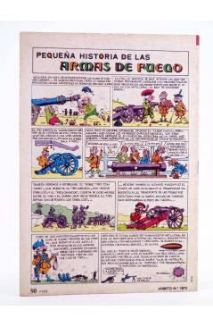 Contracubierta de JAIMITO PUBLICACIÓN JUVENIL 1672. 30 Junio 1984 (Vvaa) Valenciana 1984