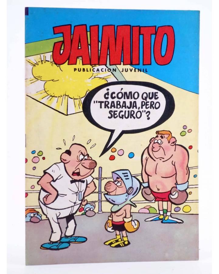 Cubierta de JAIMITO PUBLICACIÓN JUVENIL 1673. 07 Julio 1984 (Vvaa) Valenciana 1984