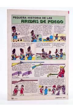 Contracubierta de JAIMITO PUBLICACIÓN JUVENIL 1673. 07 Julio 1984 (Vvaa) Valenciana 1984