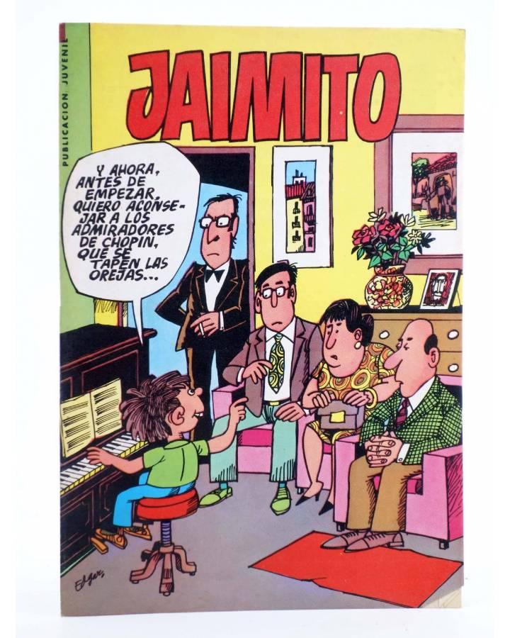 Cubierta de JAIMITO PUBLICACIÓN JUVENIL 1675. 21 Julio 1984 (Vvaa) Valenciana 1984