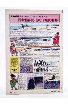 Contracubierta de JAIMITO PUBLICACIÓN JUVENIL 1675. 21 Julio 1984 (Vvaa) Valenciana 1984