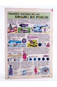Contracubierta de JAIMITO PUBLICACIÓN JUVENIL 1676. 28 Julio 1984 (Vvaa) Valenciana 1984