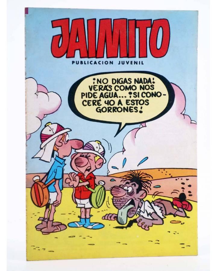 Cubierta de JAIMITO PUBLICACIÓN JUVENIL 1677. 04 Agosto 1984 (Vvaa) Valenciana 1984