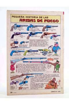 Contracubierta de JAIMITO PUBLICACIÓN JUVENIL 1678. 11 Agosto 1984 (Vvaa) Valenciana 1984