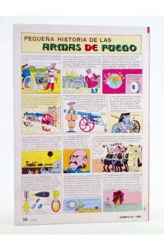 Contracubierta de JAIMITO PUBLICACIÓN JUVENIL 1682. 08 Septiembre 1984 (Vvaa) Valenciana 1984
