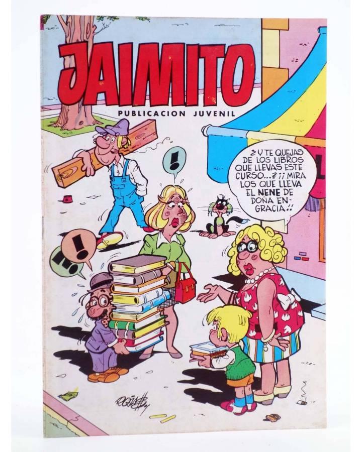 Cubierta de JAIMITO PUBLICACIÓN JUVENIL 1683. 15 Septiembre 1984 (Vvaa) Valenciana 1984