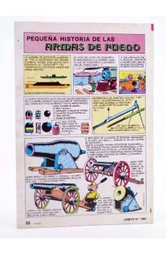 Contracubierta de JAIMITO PUBLICACIÓN JUVENIL 1683. 15 Septiembre 1984 (Vvaa) Valenciana 1984
