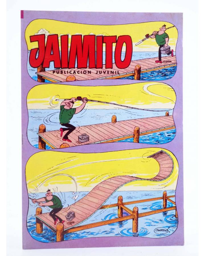 Cubierta de JAIMITO PUBLICACIÓN JUVENIL 1684. 22 Septiembre 1984 (Vvaa) Valenciana 1984