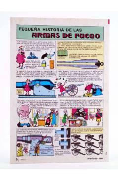 Contracubierta de JAIMITO PUBLICACIÓN JUVENIL 1684. 22 Septiembre 1984 (Vvaa) Valenciana 1984