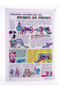 Contracubierta de JAIMITO PUBLICACIÓN JUVENIL 1685. 29 Septiembre 1984 (Vvaa) Valenciana 1984