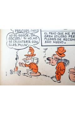Muestra 3 de JAIMITO Album comico 1969. 23 Noviembre 1968 (Vvaa) Valenciana 1968. SOLUCIÓN OLÍMPICA