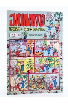 Cubierta de JAIMITO PUBLICACIÓN JUVENIL 1323. 12 Abril 1975 (Vvaa) Valenciana 1975. EXTRA DE PRIMAVERA